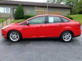 2015 Race Red Ford Focus SE Sedan #127889861