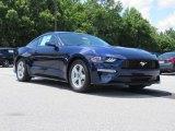 2018 Kona Blue Ford Mustang EcoBoost Fastback #127901450