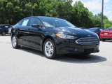 2018 Shadow Black Ford Fusion SE #127901448