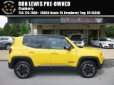 2017 Solar Yellow Jeep Renegade Trailhawk 4x4 #127906477