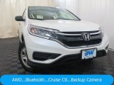 2015 White Diamond Pearl Honda CR-V LX AWD #127906642