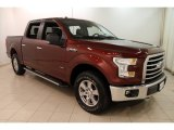 2015 Bronze Fire Metallic Ford F150 XLT SuperCrew 4x4 #127906795