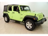 2017 Hypergreen Jeep Wrangler Unlimited Sport 4x4 #127906792