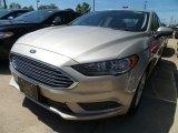 2018 White Gold Ford Fusion SE #127906759
