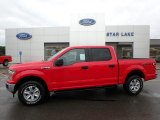 2018 Race Red Ford F150 XLT SuperCrew 4x4 #127946021
