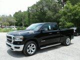 2019 Diamond Black Crystal Pearl Ram 1500 Big Horn Quad Cab #127945995