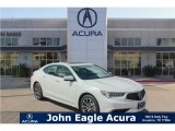 2018 Bellanova White Pearl Acura TLX V6 Technology Sedan #127945799