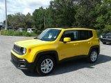 2018 Solar Yellow Jeep Renegade Latitude #127945986