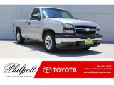 2006 Silver Birch Metallic Chevrolet Silverado 1500 LS Regular Cab #127972320