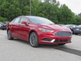 2018 Ruby Red Ford Fusion SE #127972266