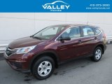 2015 Basque Red Pearl II Honda CR-V LX AWD #128000436