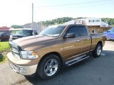 2012 Saddle Brown Pearl Dodge Ram 1500 SLT Quad Cab 4x4 #128000647
