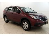 2015 Basque Red Pearl II Honda CR-V LX AWD #128000809