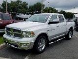 2012 Bright White Dodge Ram 1500 Laramie Crew Cab 4x4 #128027924