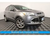 2014 Sterling Gray Ford Escape Titanium 1.6L EcoBoost 4WD #128051413