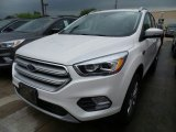 2018 White Platinum Ford Escape Titanium 4WD #128051450