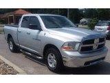 2011 Bright Silver Metallic Dodge Ram 1500 SLT Quad Cab 4x4 #128051433