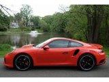 2017 Porsche 911 Lava Orange