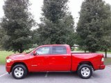 2019 Flame Red Ram 1500 Big Horn Crew Cab 4x4 #128089726