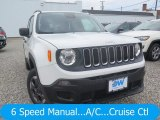 2018 Alpine White Jeep Renegade Sport 4x4 #128114544