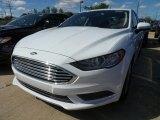 2018 Oxford White Ford Fusion SE #128114776