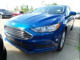 2018 Lightning Blue Ford Fusion SE #128114768