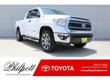 2014 Super White Toyota Tundra SR5 Double Cab #128114718