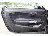 2017 Ford Mustang EcoBoost Premium Convertible Door Panel
