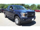 2018 Blue Jeans Ford F150 XL SuperCab 4x4 #128137870