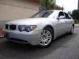 2003 Titanium Silver Metallic BMW 7 Series 745Li Sedan #12806535