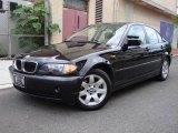 2004 Jet Black BMW 3 Series 325xi Sedan #12806536