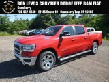 2019 Flame Red Ram 1500 Big Horn Crew Cab 4x4 #128152029