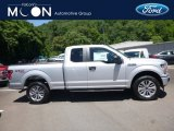 2018 Ingot Silver Ford F150 XL SuperCab 4x4 #128152105