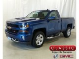 2018 Deep Ocean Blue Metallic Chevrolet Silverado 1500 LT Regular Cab 4x4 #128152176