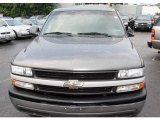 2002 Medium Charcoal Gray Metallic Chevrolet Silverado 1500 Work Truck Regular Cab #12812991