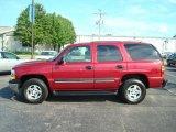 2005 Sport Red Metallic Chevrolet Tahoe LS 4x4 #12800156