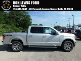2018 Ingot Silver Ford F150 XLT SuperCrew 4x4 #128172453