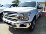 2018 White Platinum Ford F150 Lariat SuperCrew 4x4 #128197486