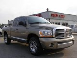 2006 Light Khaki Metallic Dodge Ram 1500 Laramie Quad Cab #12804488