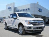 2018 White Platinum Ford F150 Lariat SuperCrew 4x4 #128197391