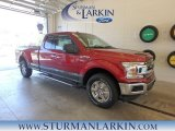 2018 Ruby Red Ford F150 XLT SuperCab 4x4 #128217361