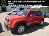 2018 Colorado Red Jeep Renegade Latitude 4x4 #128217294