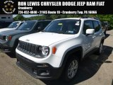 2018 Alpine White Jeep Renegade Latitude 4x4 #128217282