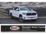 2018 Super White Toyota Tundra SR5 CrewMax 4x4 #128217214