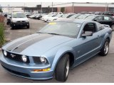 2005 Windveil Blue Metallic Ford Mustang GT Deluxe Coupe #12792175