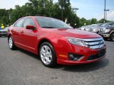 2010 Sangria Red Metallic Ford Fusion SE V6 #12804128
