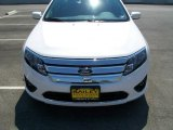 2010 White Platinum Tri-coat Metallic Ford Fusion SE #12799285