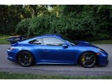 2018 Porsche 911 Sapphire Blue Metallic