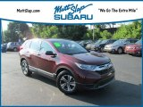 2017 Basque Red Pearl II Honda CR-V LX #128286448