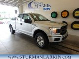 2018 Ingot Silver Ford F150 XL SuperCab 4x4 #128306777